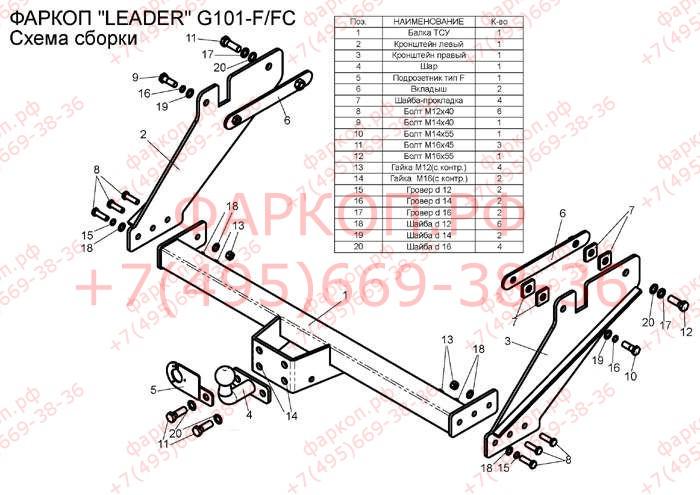 G101-FC подробнее